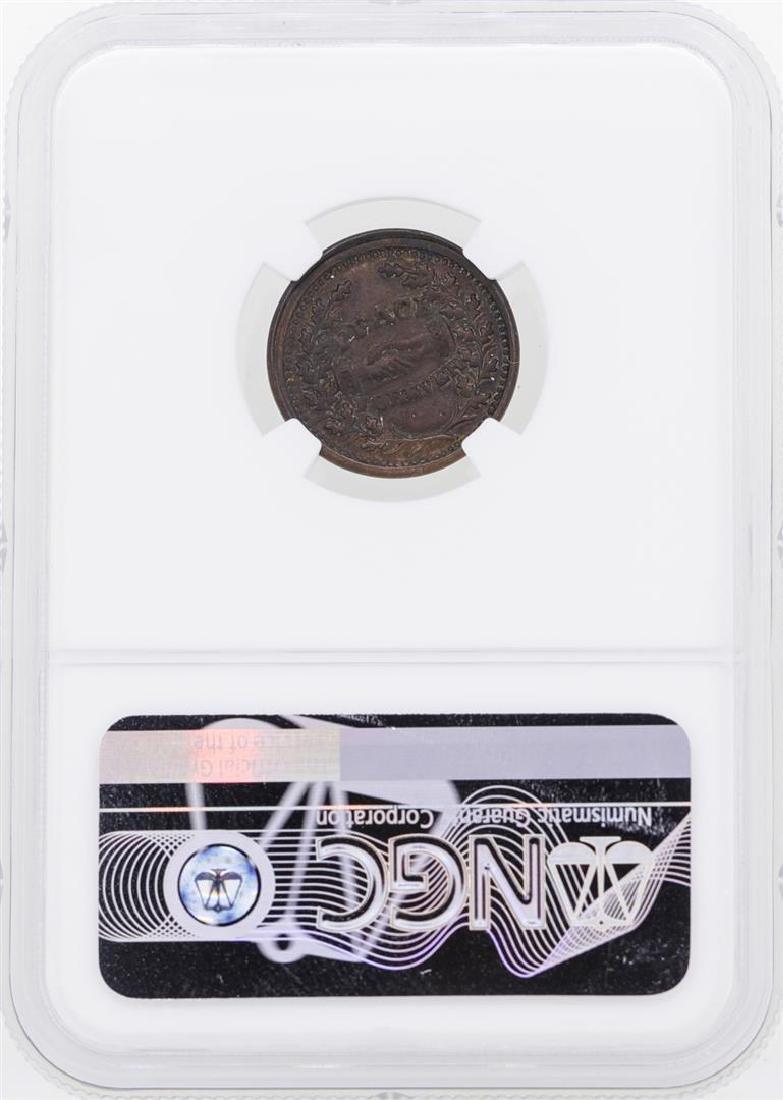 1863 Washington-Peace Forever Civil War Token NGC - 2