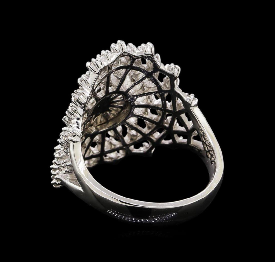 14KT White Gold 0.48 ctw Diamond Ring - 3