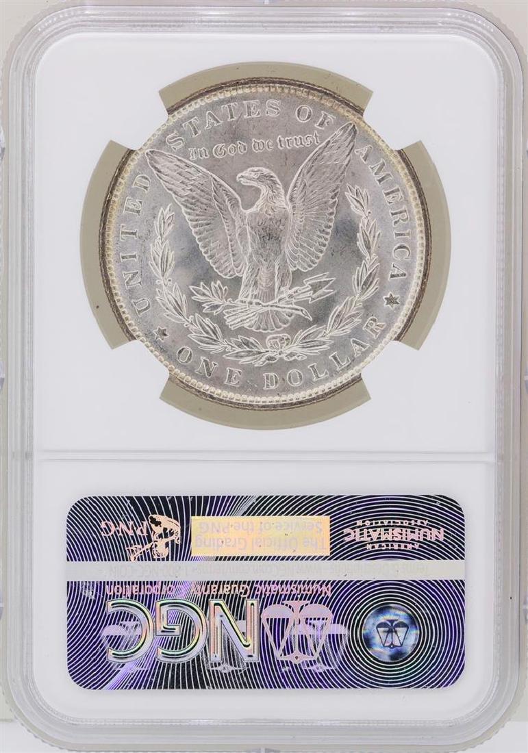 1890 $1 Morgan Silver Dollar Coin NGC MS63 - 2