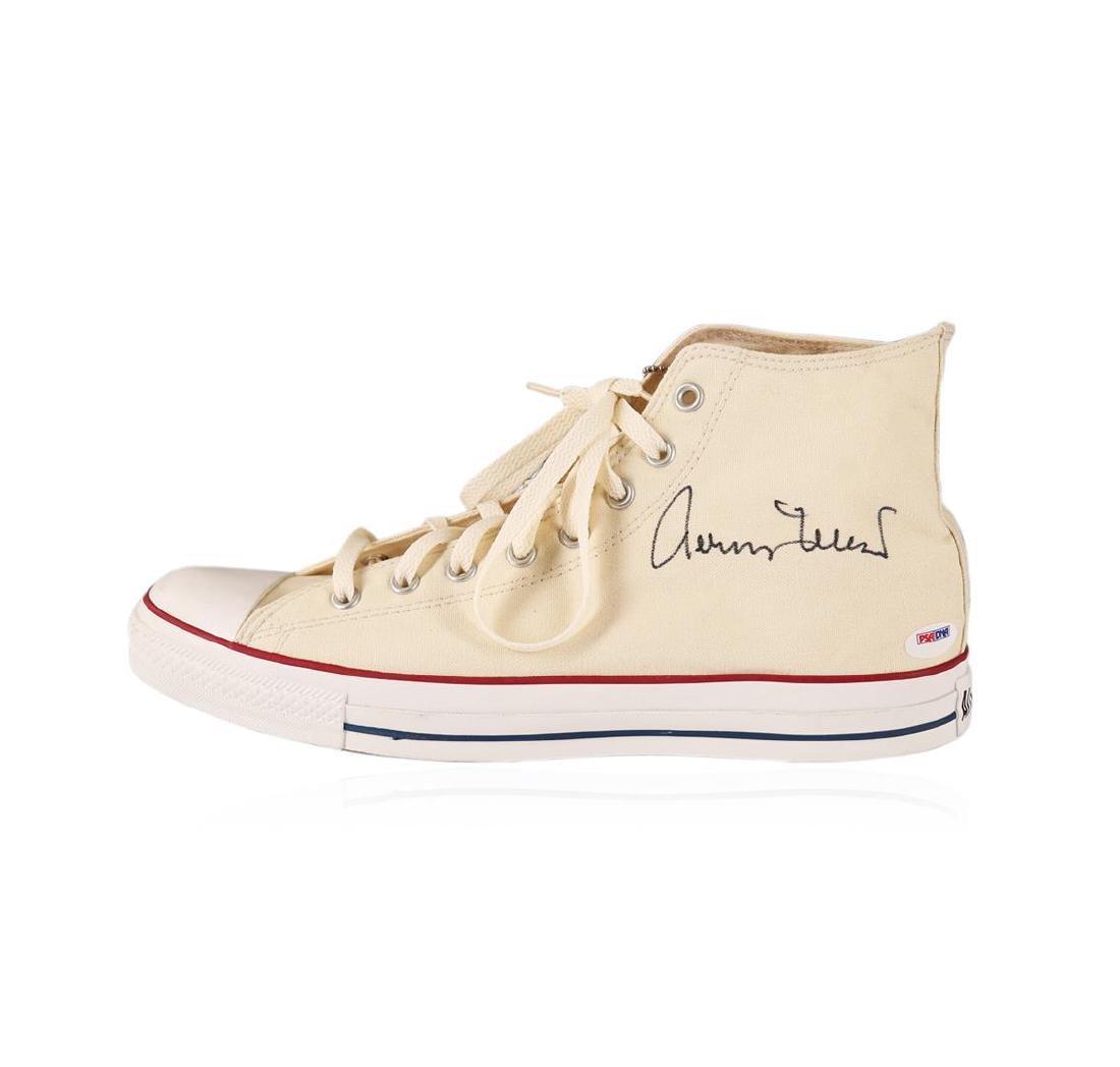PSA Certified Jerry West Autographed Shoe
