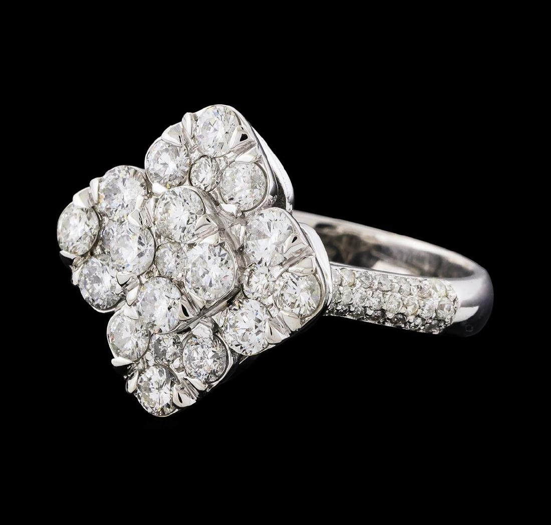 2.12 ctw Diamond Ring - 14KT White Gold