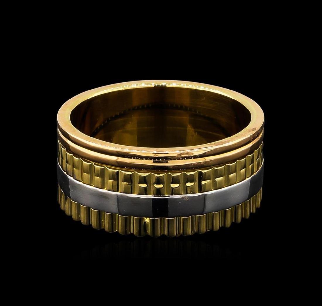 18KT Tri-Tone Gold Ring