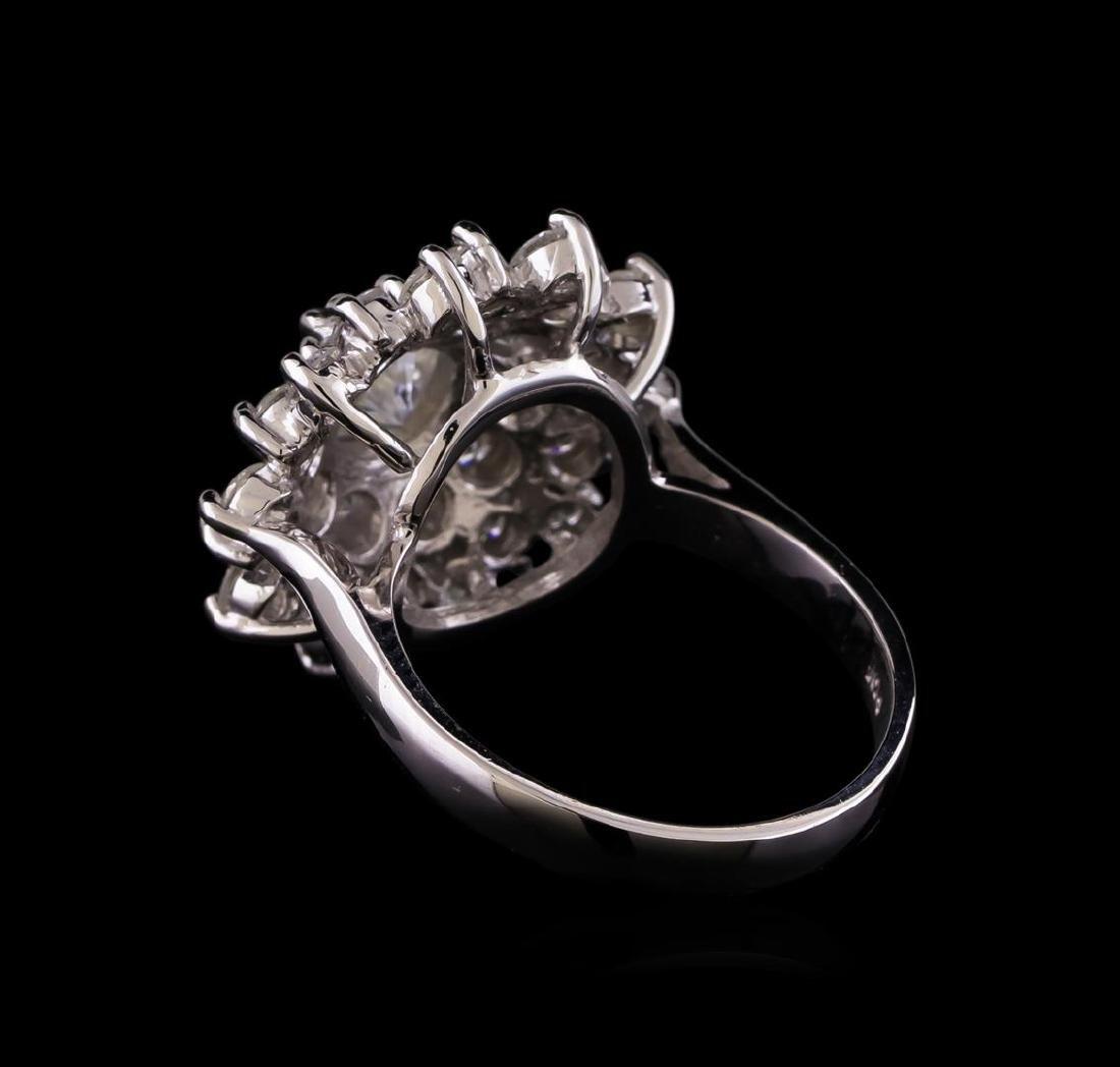 14KT White Gold 2.64 ctw Diamond Ring - 3