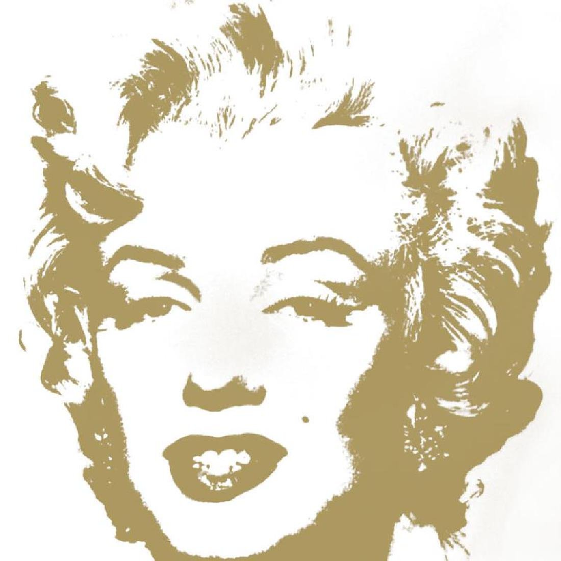 Golden Marilyn 11.41 by Warhol, Andy - 2