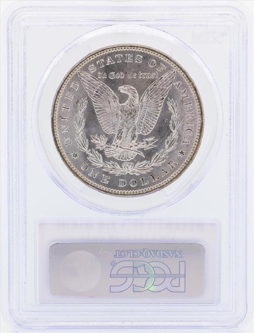 1887 $1 Morgan Silver Dollar Coin PCGS MS65 - 2