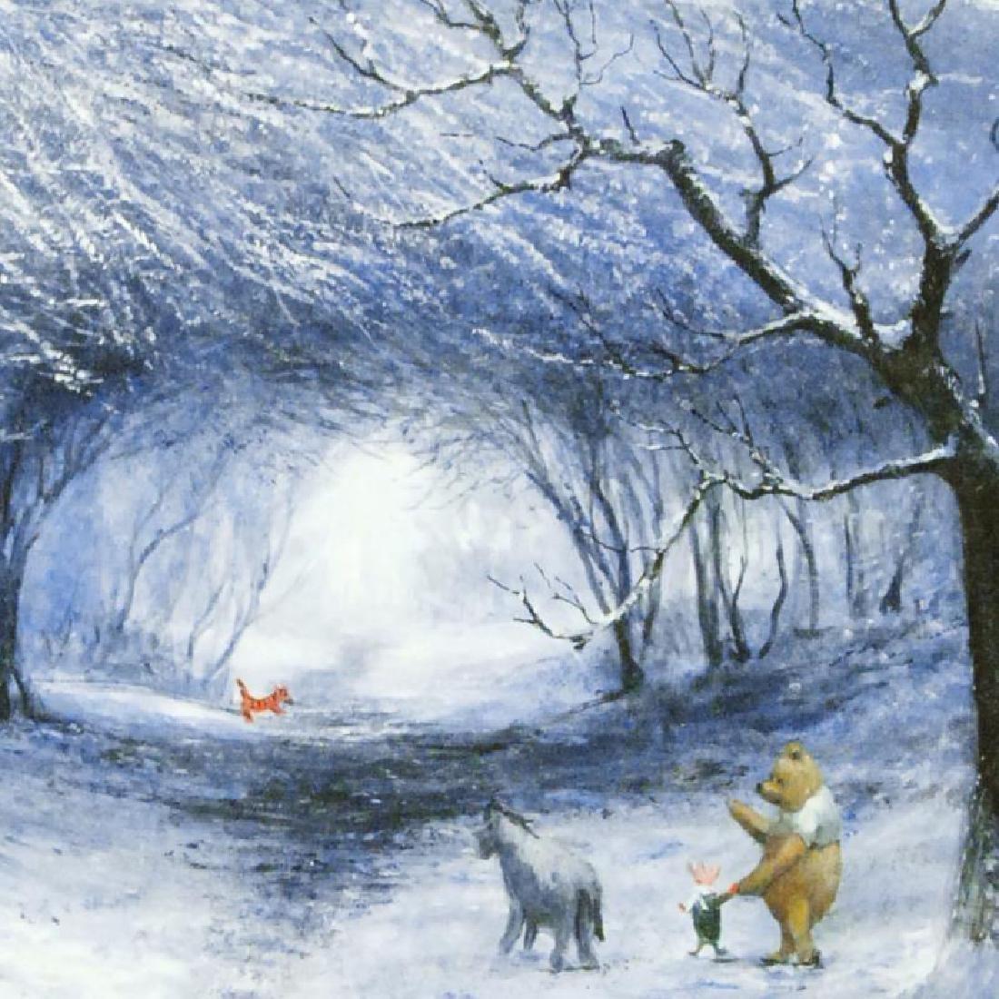 Winter Walk by Ellenshaw (1913-2007) - 2