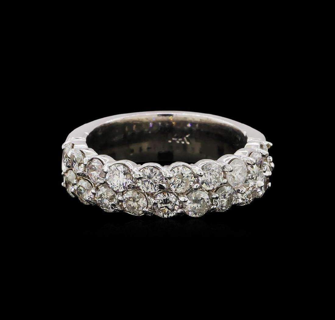 14KT White Gold 1.76 ctw Diamond Ring - 2
