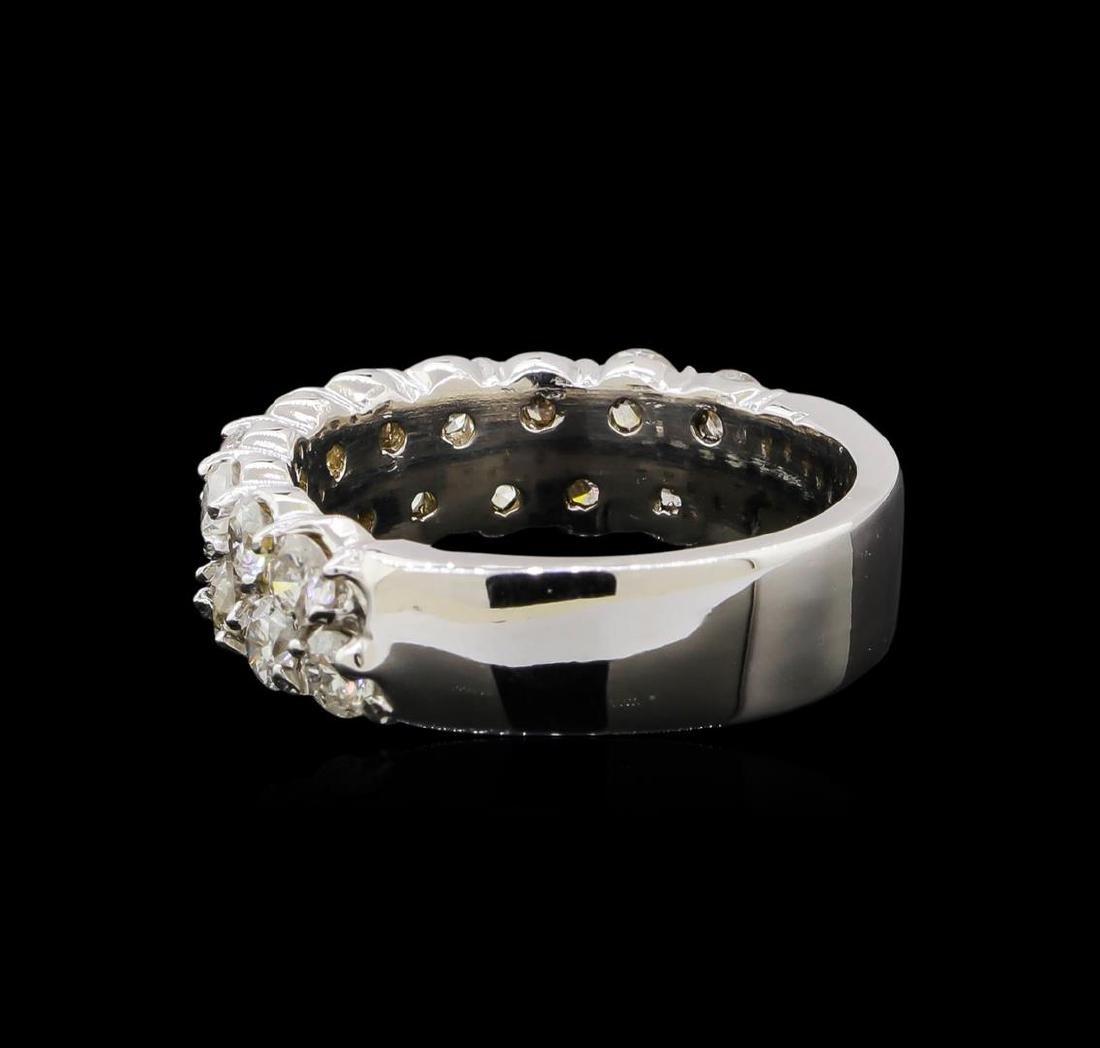 14KT White Gold 1.76 ctw Diamond Ring - 3