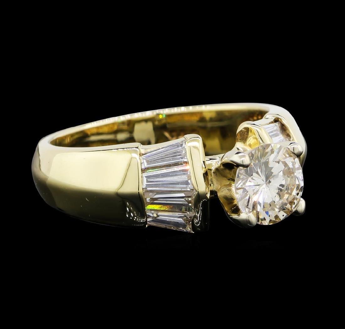 1.22 ctw Diamond Ring - 14KT Yellow Gold