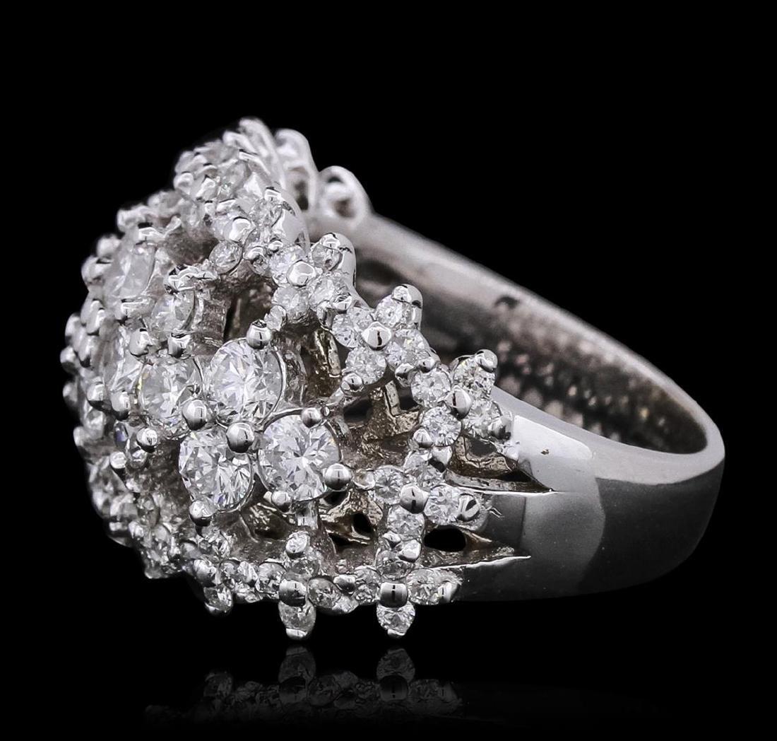 14KT White Gold 2.67 ctw Diamond Ring