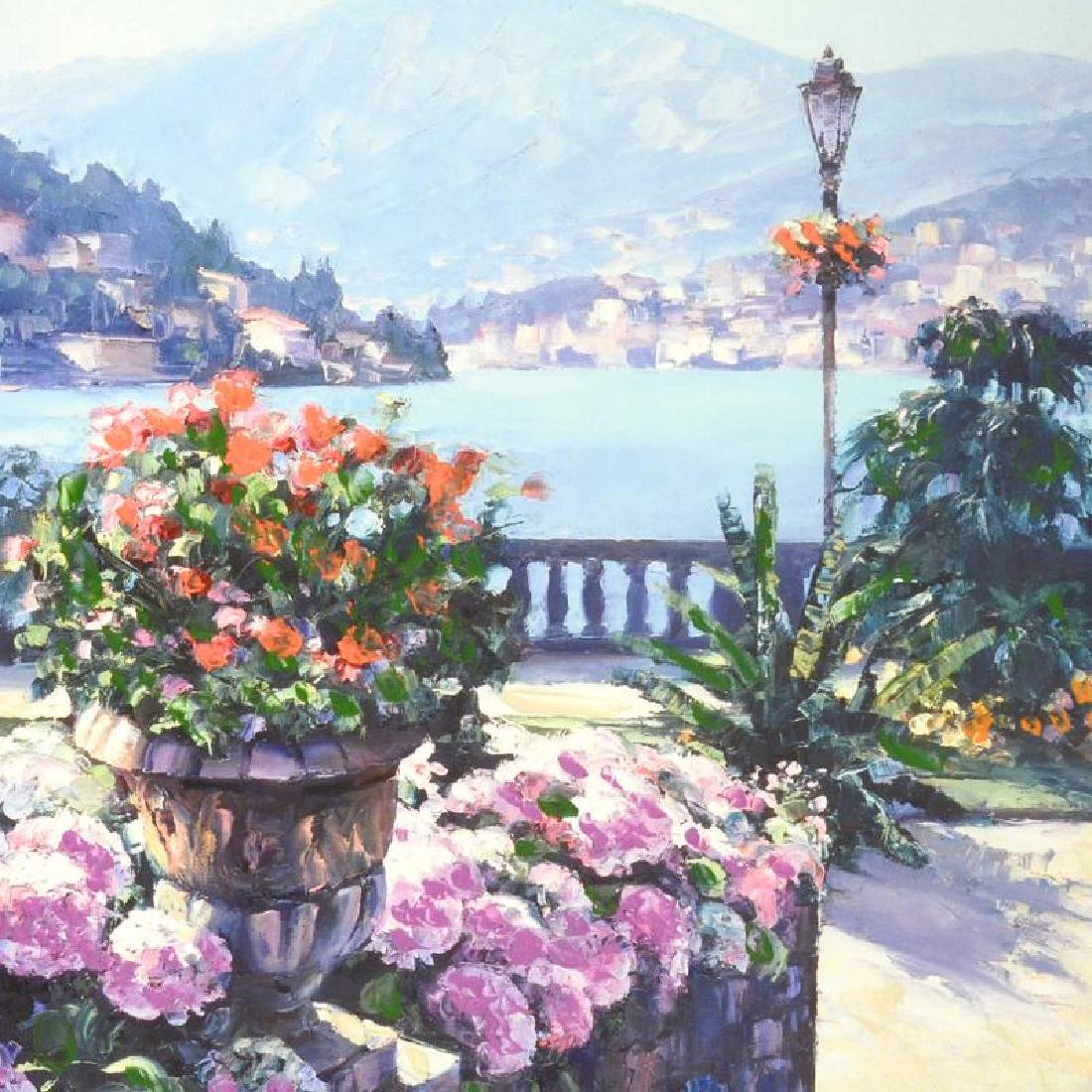 On Lake Como by Behrens (1933-2014) - 2