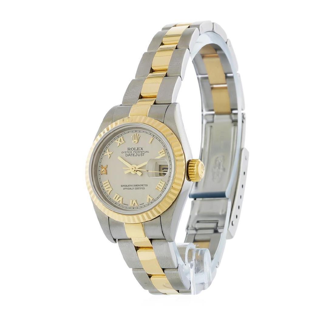 Rolex Two-Tone DateJust Ladies Watch - 2