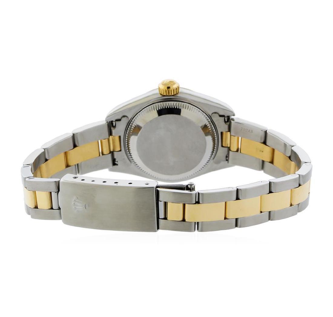 Rolex Two-Tone DateJust Ladies Watch - 3