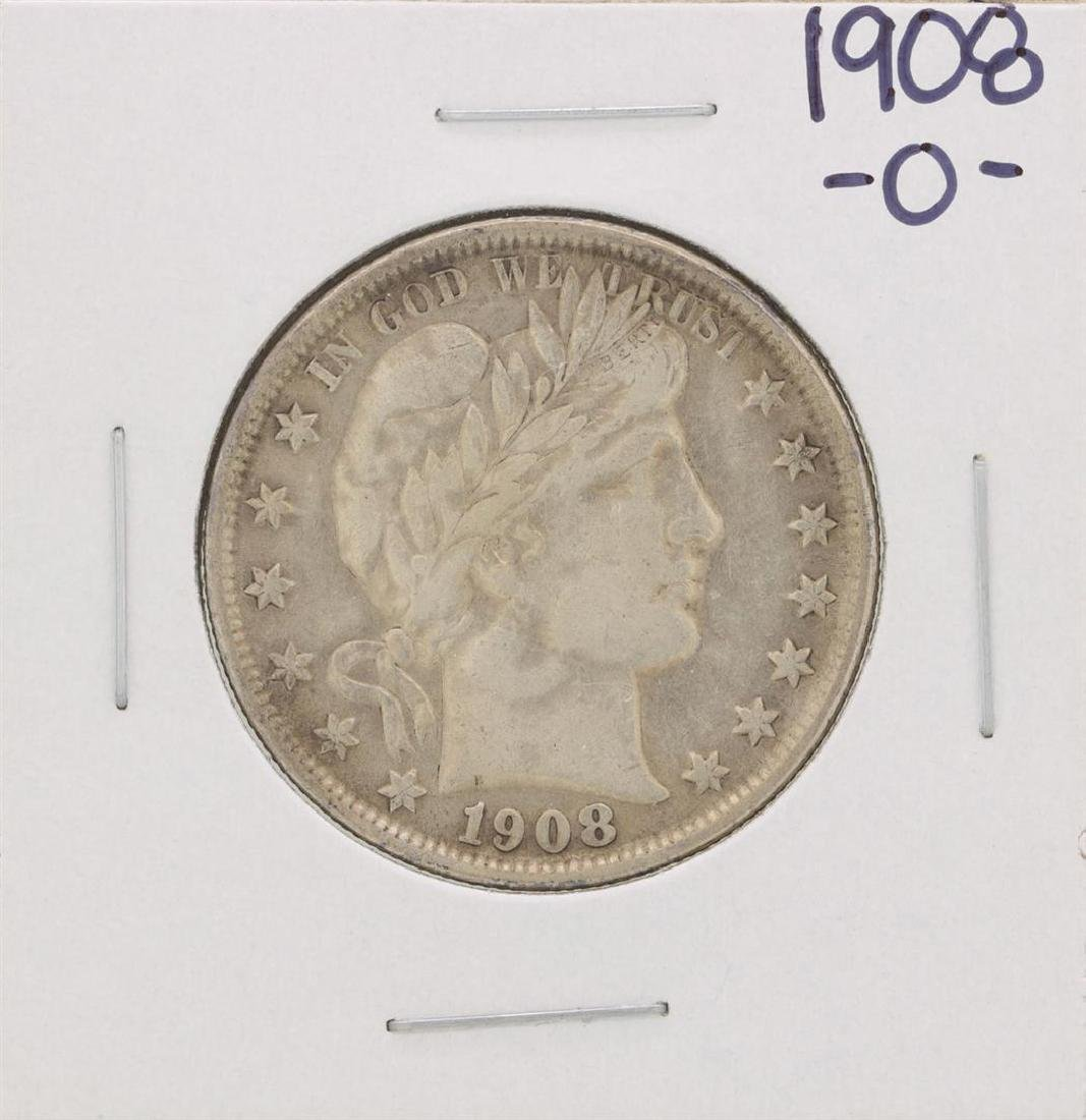 1908-O Barber Half Dollar Coin