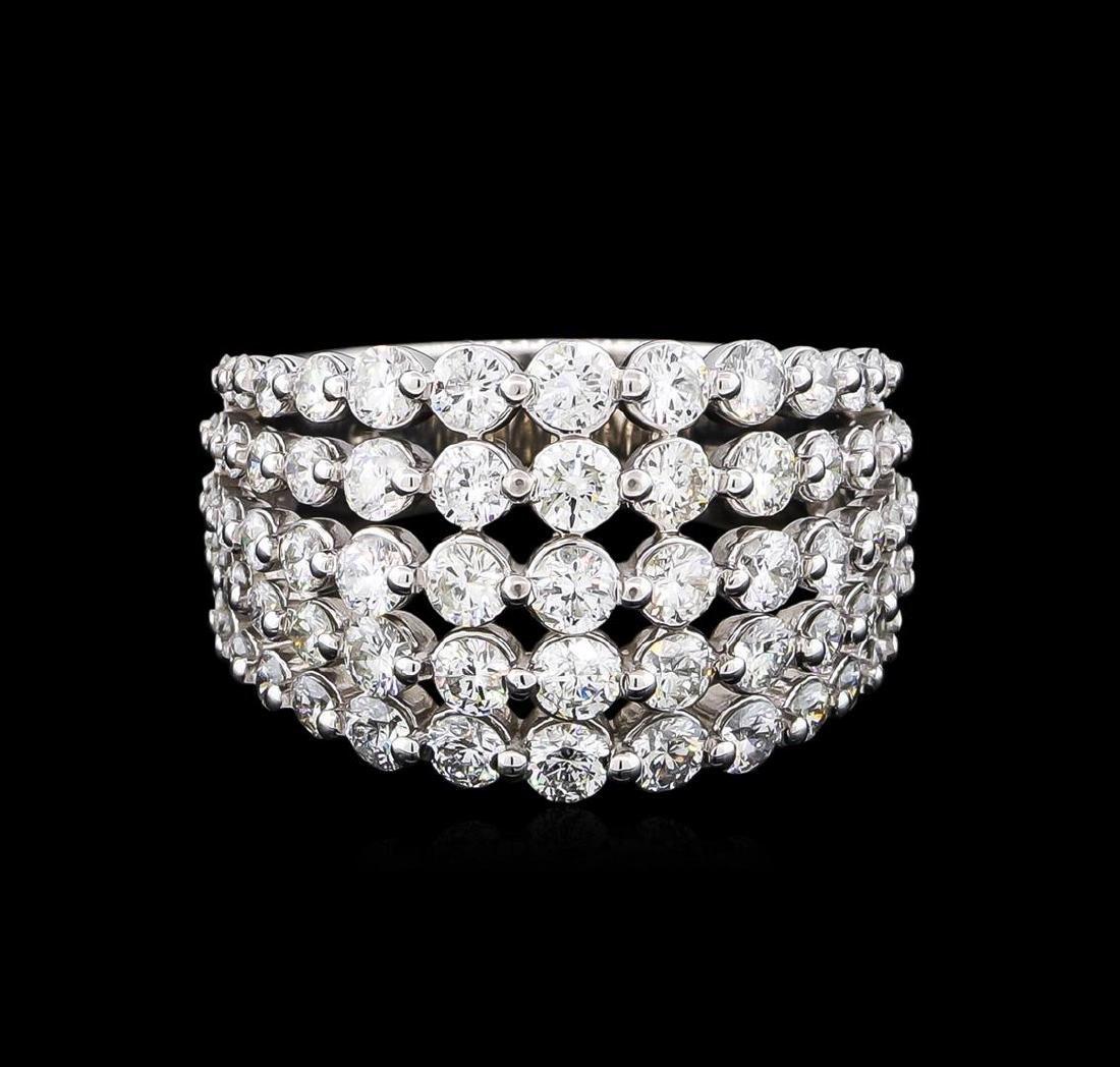 2.61 ctw Diamond Ring - 14KT White Gold - 2
