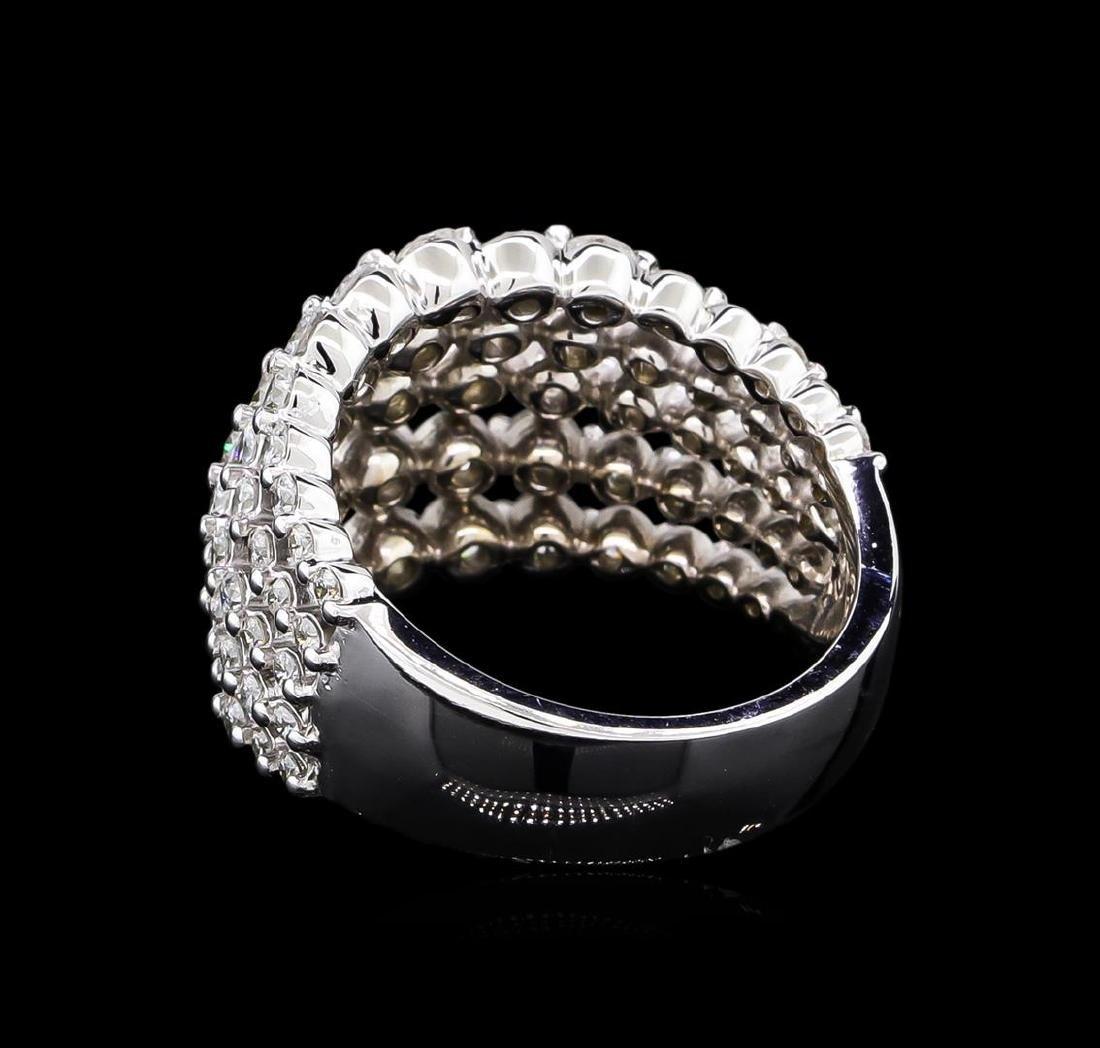 2.61 ctw Diamond Ring - 14KT White Gold - 3