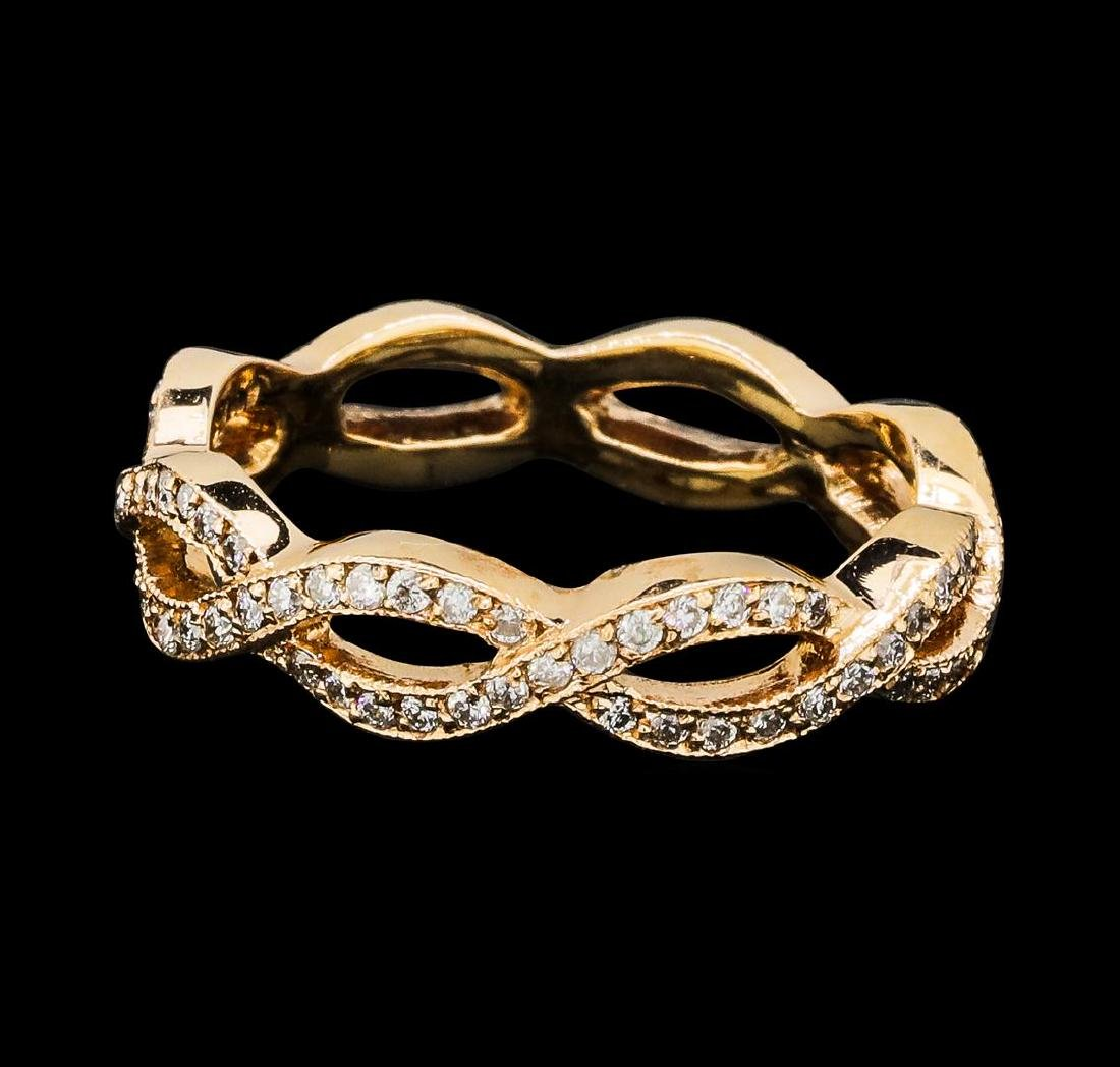 0.75 ctw Diamond Eternity Ring - 14KT Rose Gold