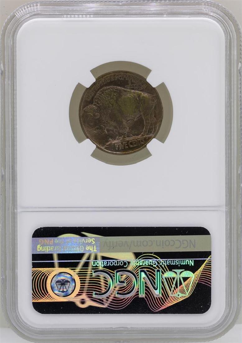 1913 Type 1 Buffalo Nickel Coin NGC MS64 - 2