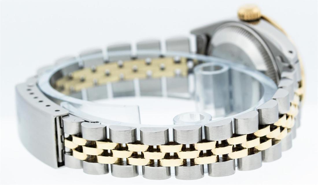 Rolex Ladies 2 Tone 14K MOP String Diamond Datejust - 7