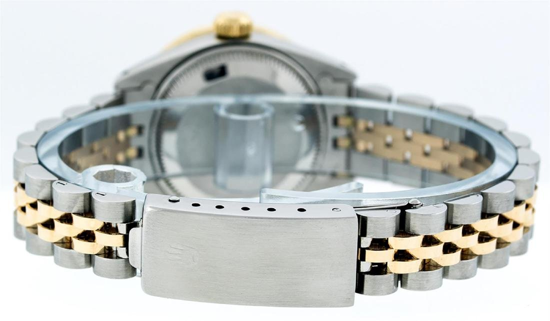 Rolex Ladies 2 Tone 14K MOP String Diamond Datejust - 8
