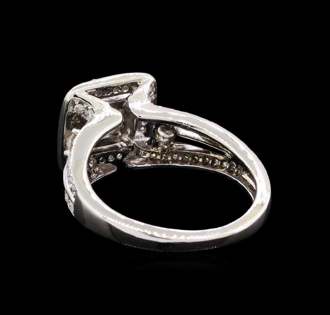 1.58 ctw Diamond Ring - 18KT White Gold - 3