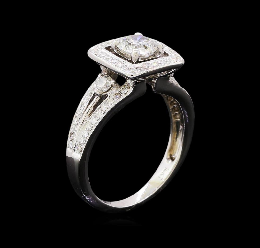 1.58 ctw Diamond Ring - 18KT White Gold - 4