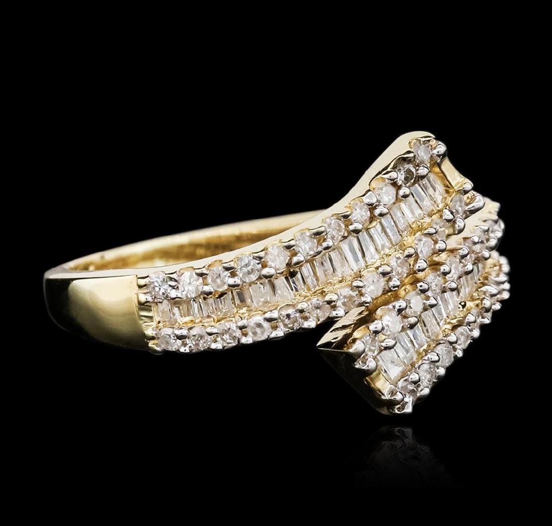 10KT Yellow Gold 0.50 ctw Diamond Ring