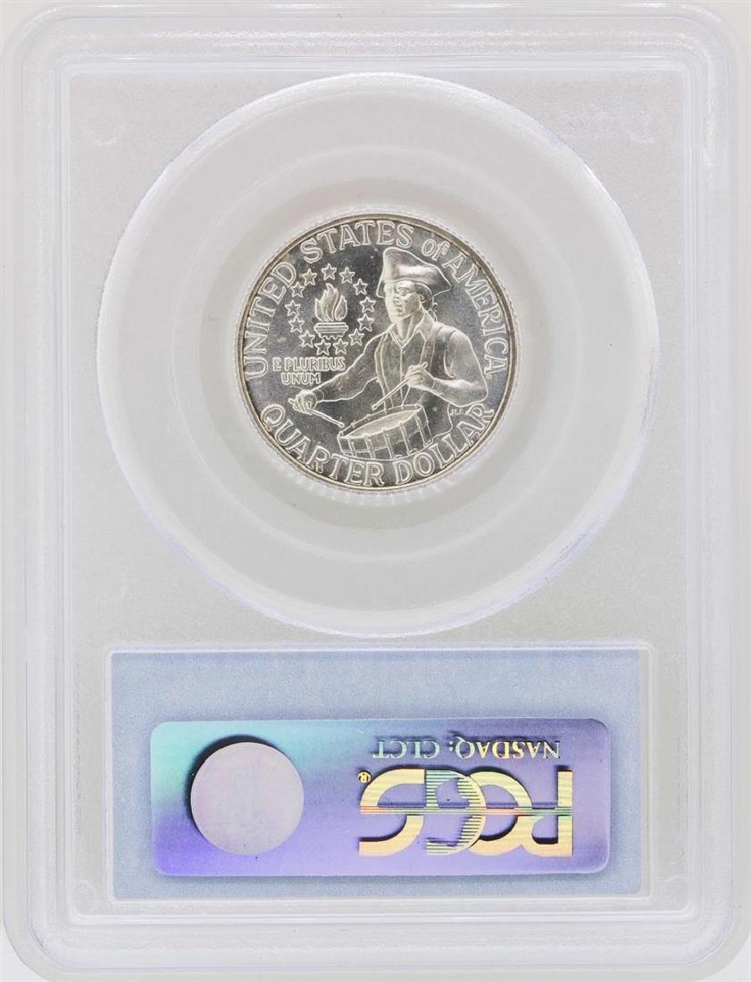 1976-S Washington Quarter Silver Coin PCGS MS66 - 2