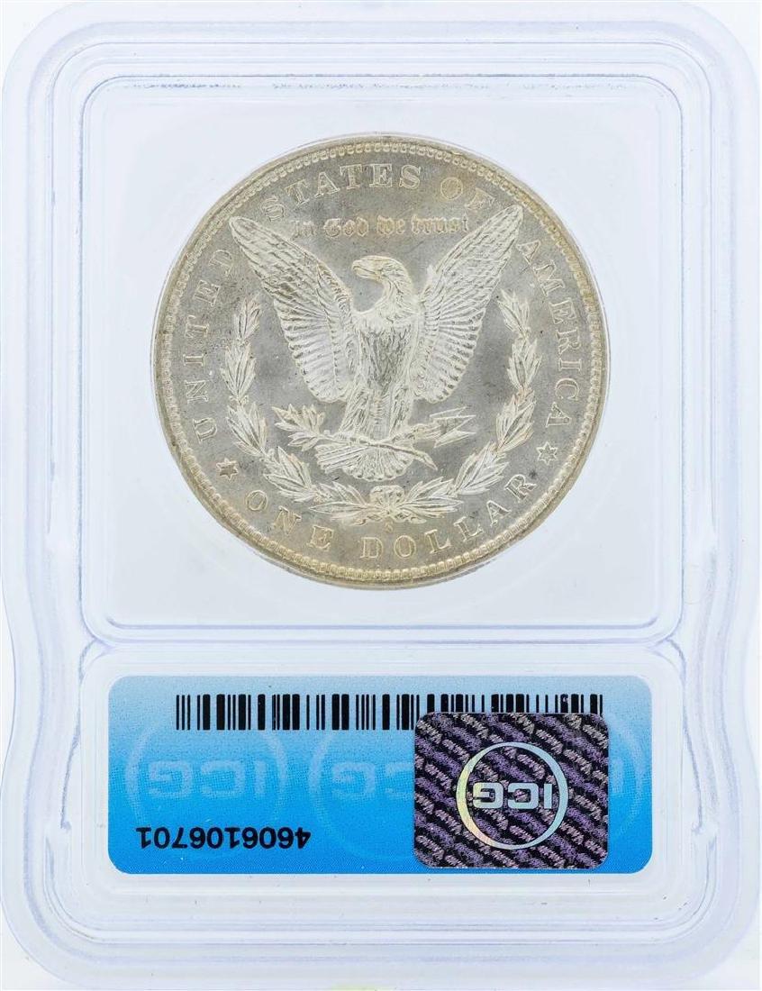 1897-S $1 Morgan Silver Dollar Coin ICG MS65 - 2