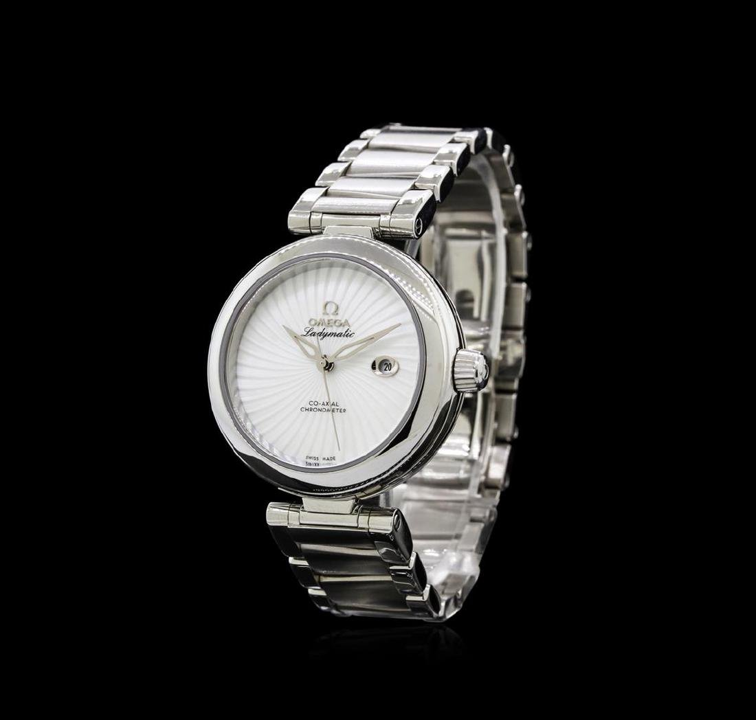 Omega Stainless Steel Deville Co-Axial Ladymatic Watch - 2