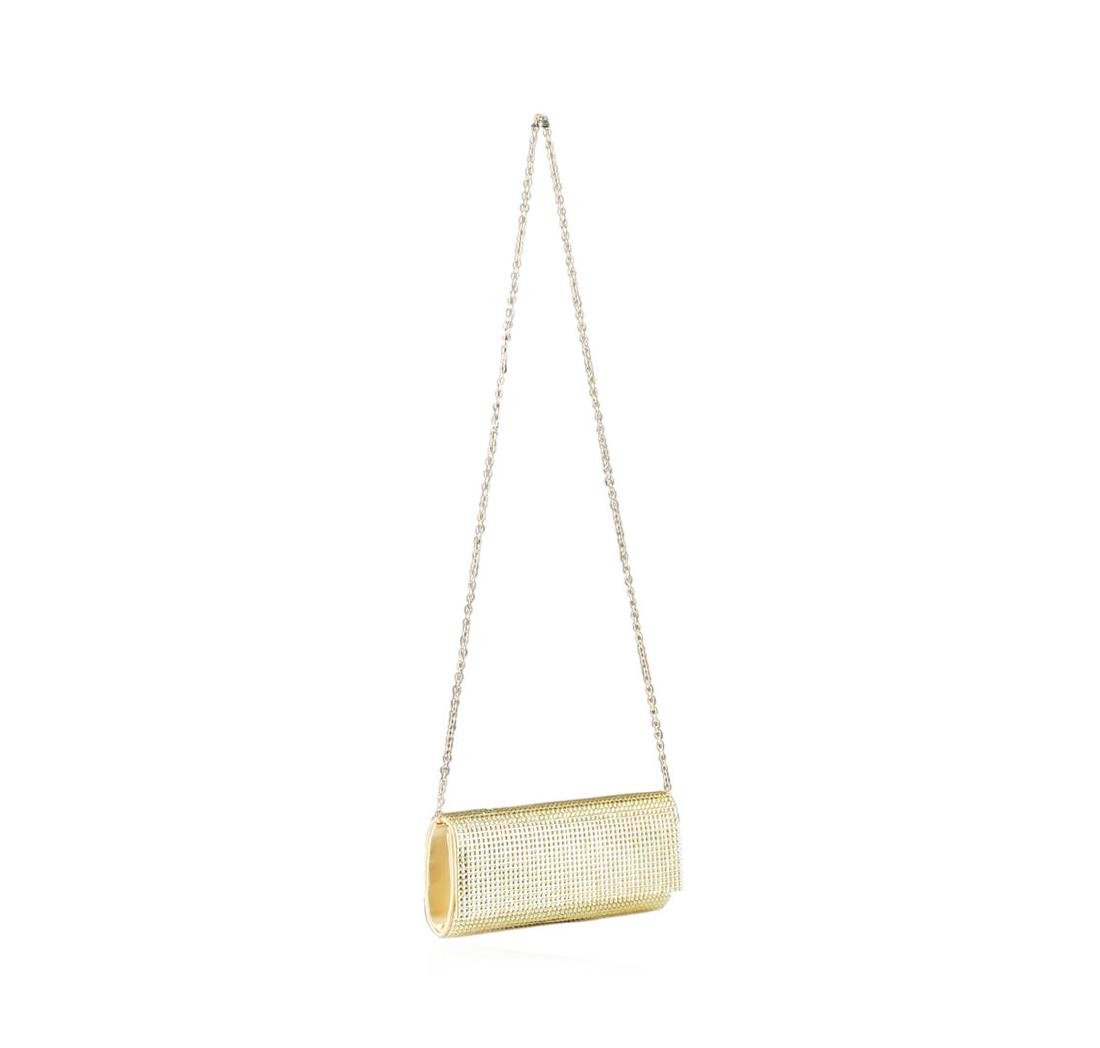 Peggy Sparkly Gold Evening Clutch - 3