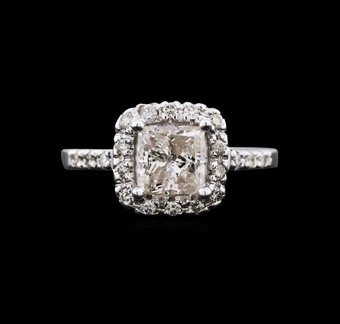 1.82 ctw Diamond Ring - 14KT White Gold - 2