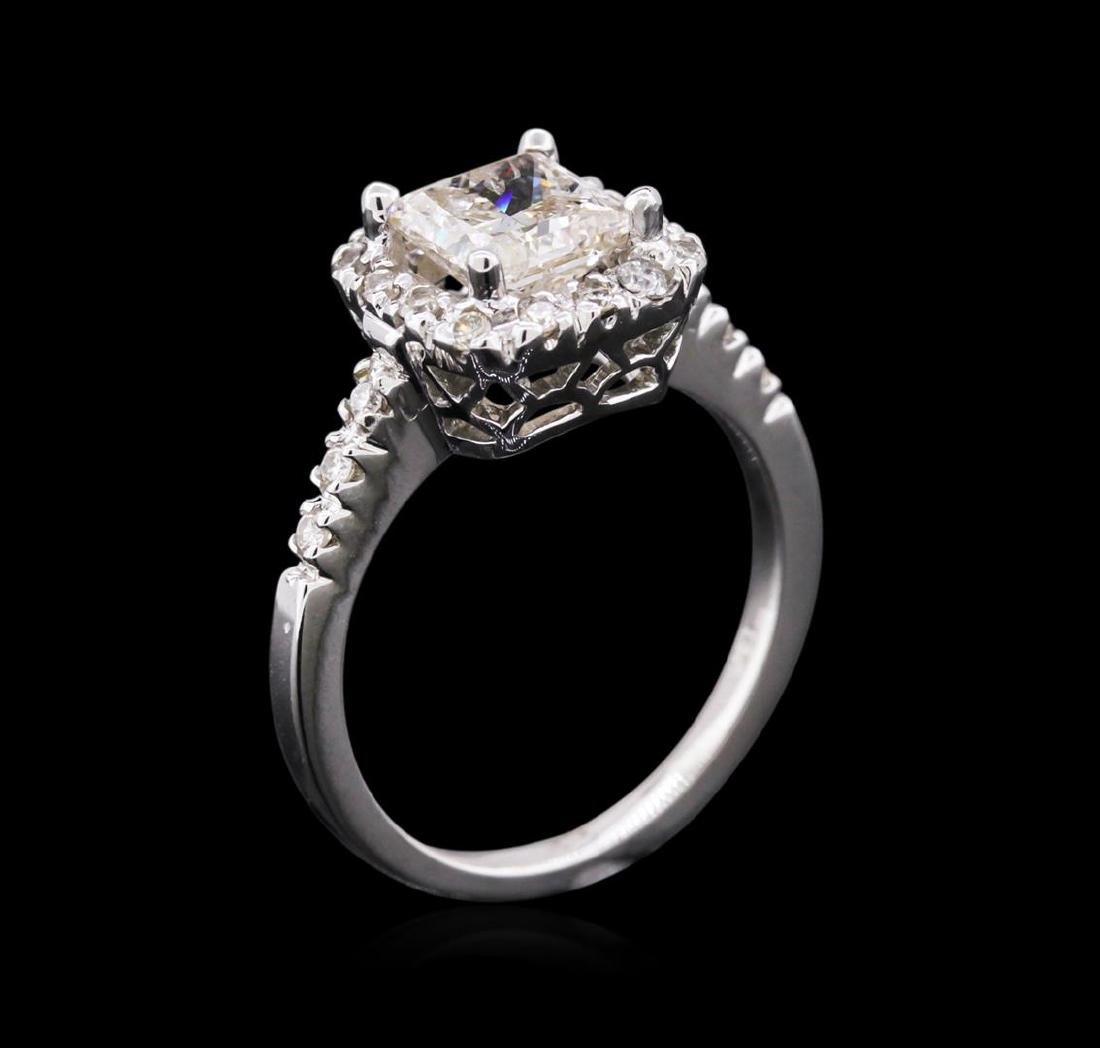 1.82 ctw Diamond Ring - 14KT White Gold - 3