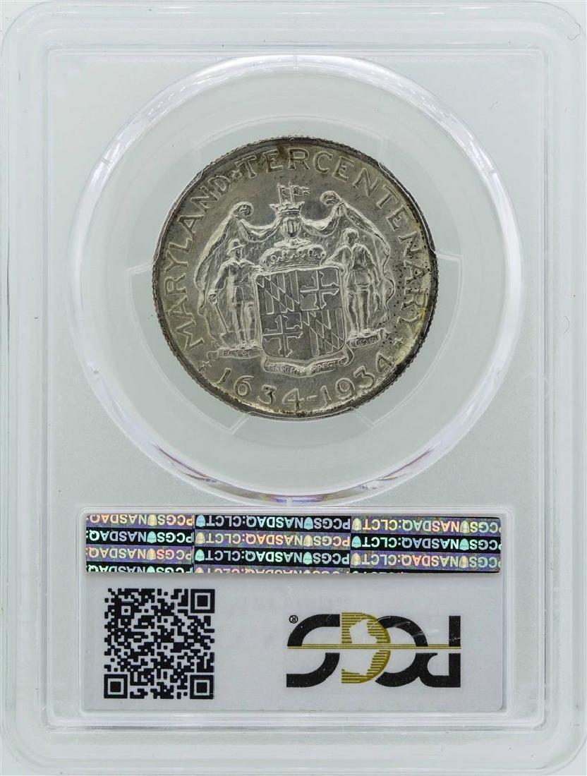 1934 Maryland Tercentenary Commemorative Half Dollar - 3