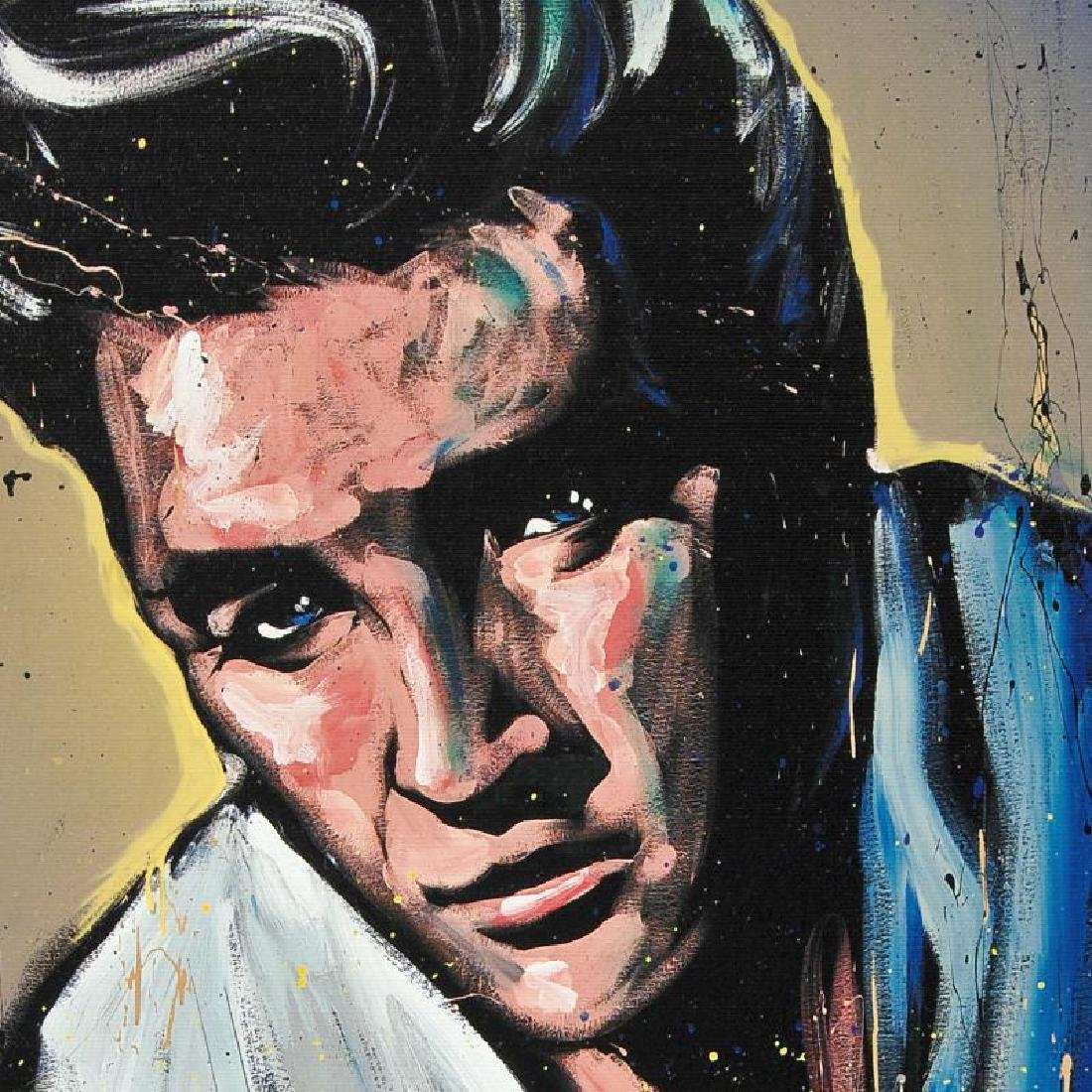 Elvis Presley (Blue Suede) by Garibaldi, David - 2