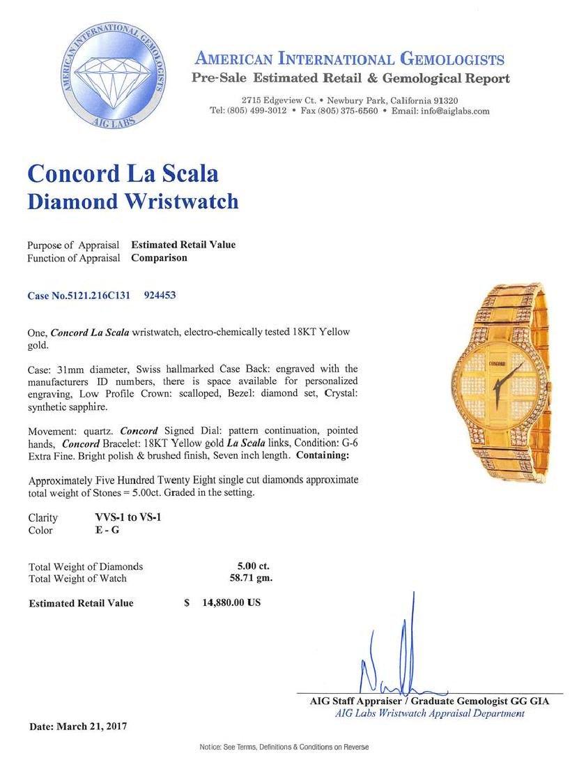 Concord La Scala Wristwatch - 5