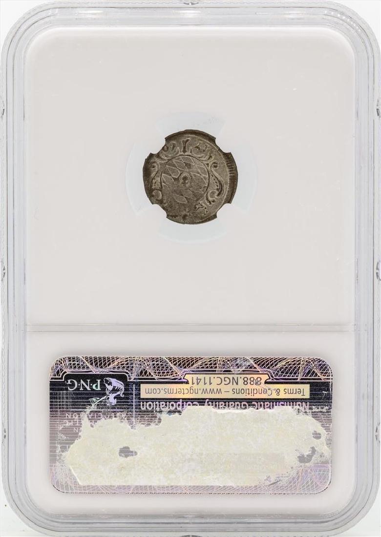 1760 Germany Bavaria 1 Kreutzer Coin NGC MS61 - 2