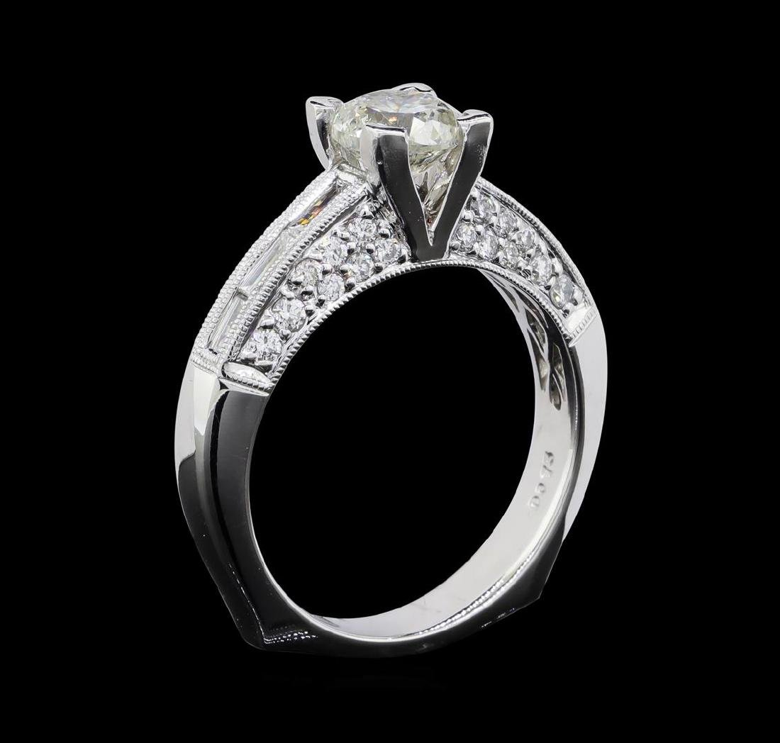 1.69 ctw Diamond Ring - 18KT White Gold - 6