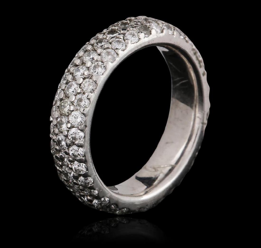 Platinum 1.40 ctw Diamond Ring