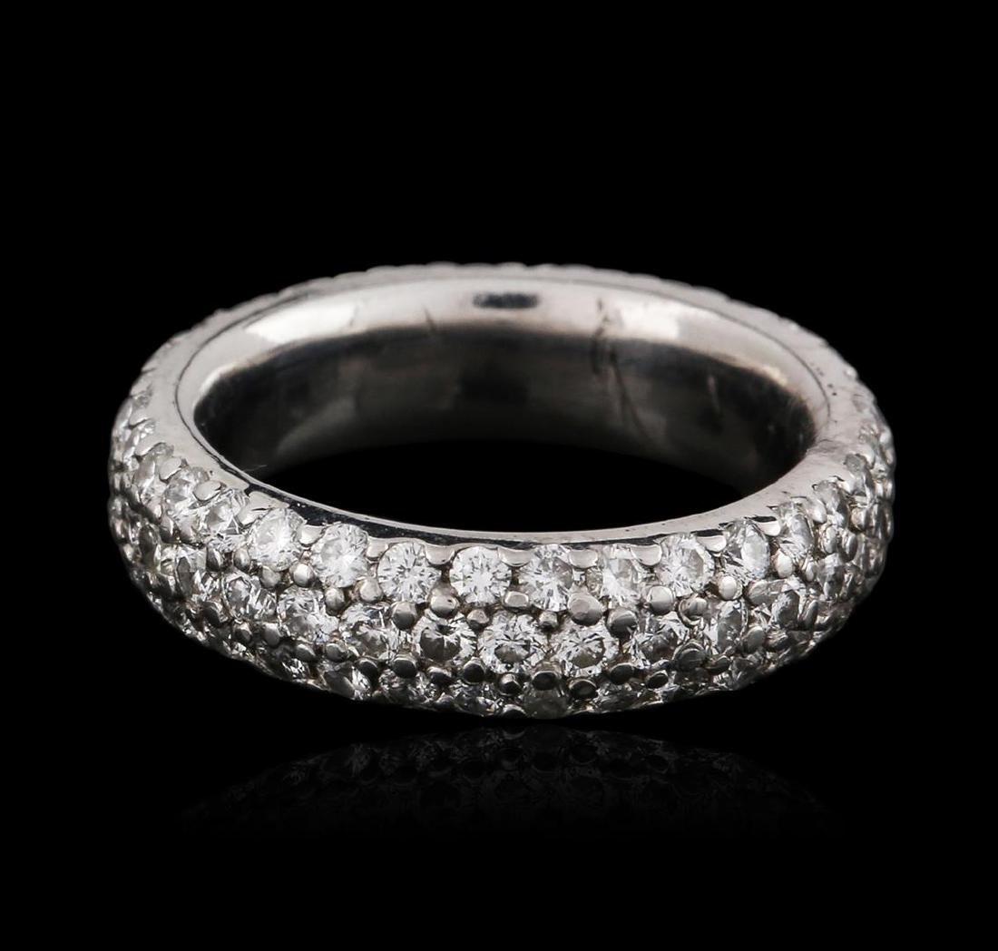 Platinum 1.40 ctw Diamond Ring - 2