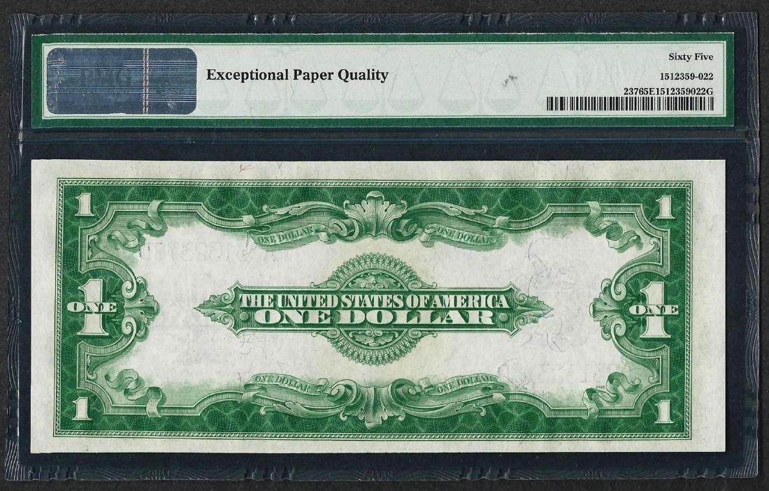 1923 $1 Silver Certificate Note Fr.237 PMG Gem - 2