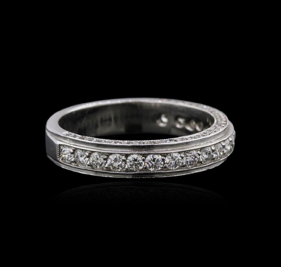 14KT White Gold 0.63 ctw Diamond Ring - 2