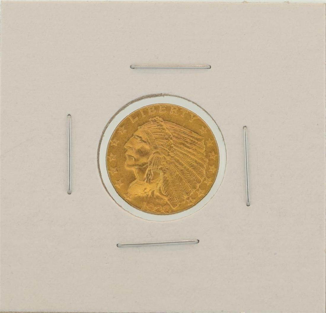 1928 $2.5 Indian Head Quarter Eagle Gold Coin