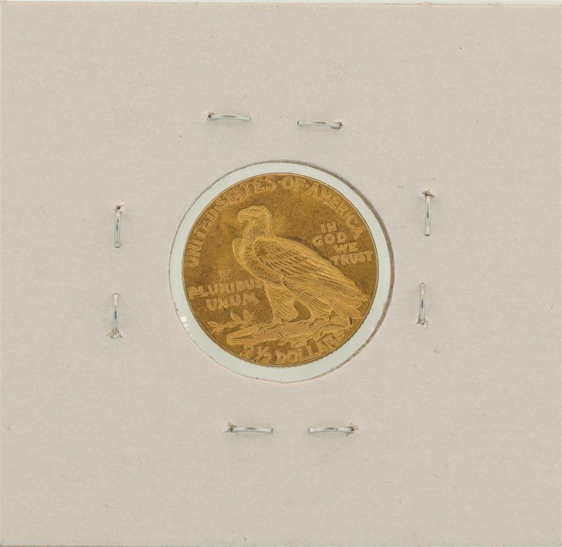 1928 $2.5 Indian Head Quarter Eagle Gold Coin - 2