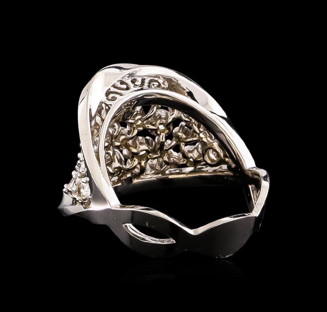 14KT White Gold 1.40 ctw Diamond Ring - 3