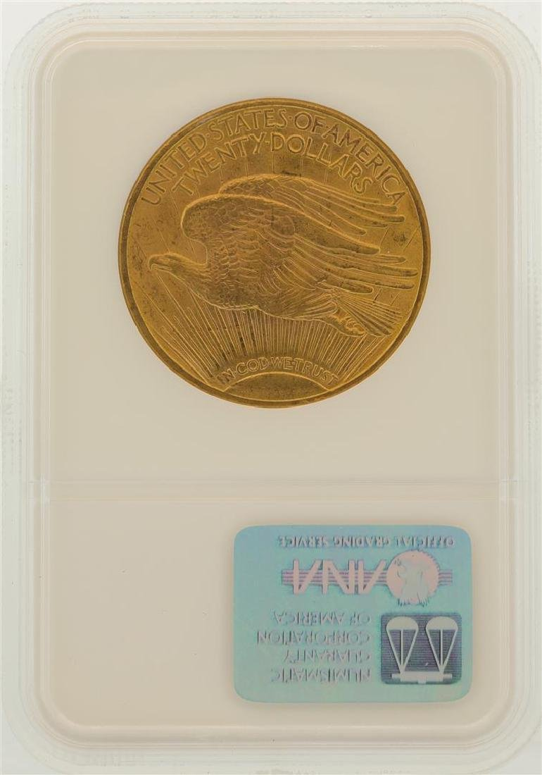 1914-S $20 St. Gaudens Double Eagle Gold Coin NGC MS64 - 2