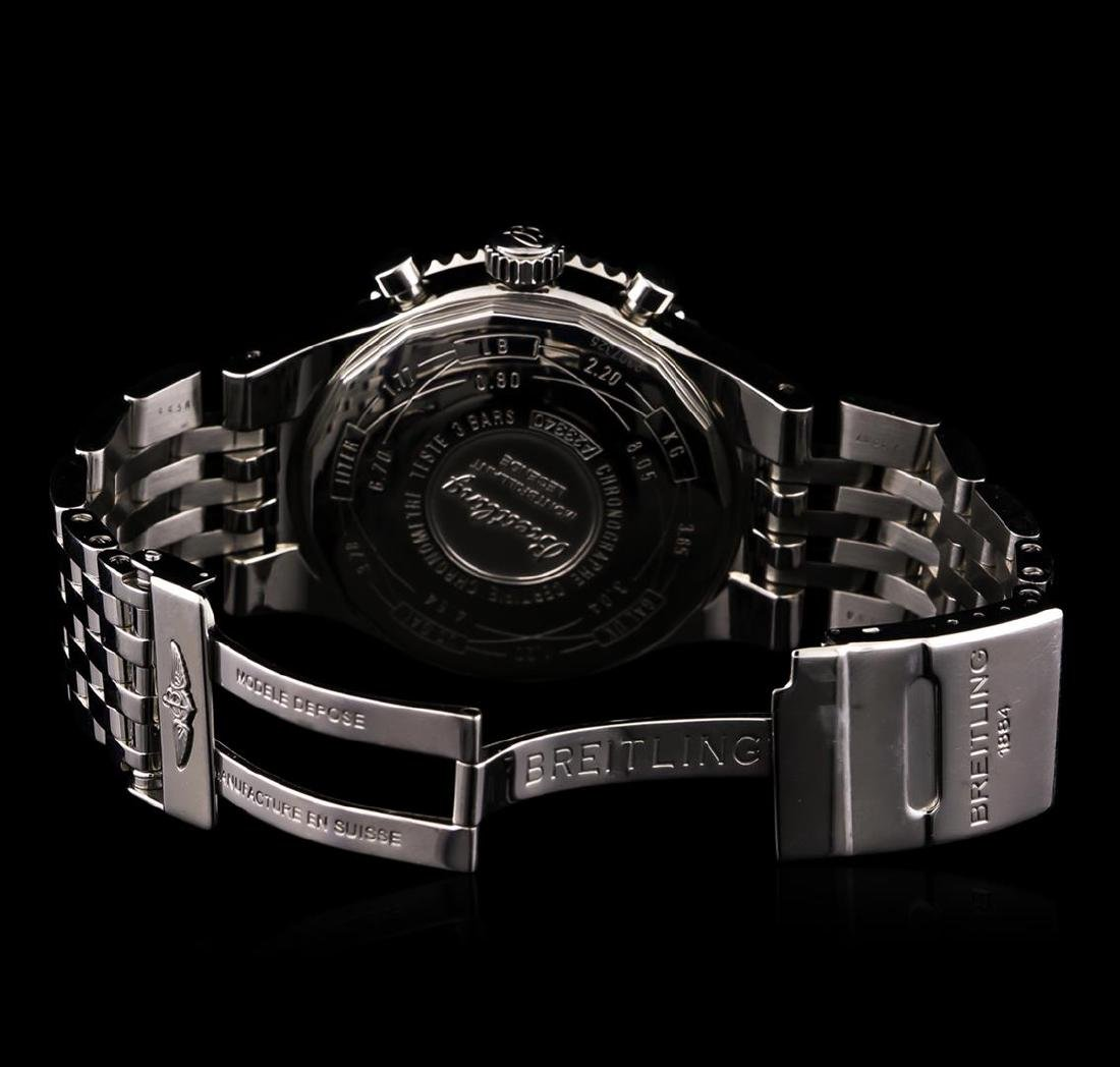 Breitling Stainless Steel Montbrilliant Legende - 4