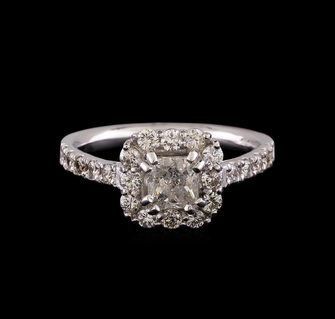 1.43 ctw Diamond Ring - 14KT White Gold - 2