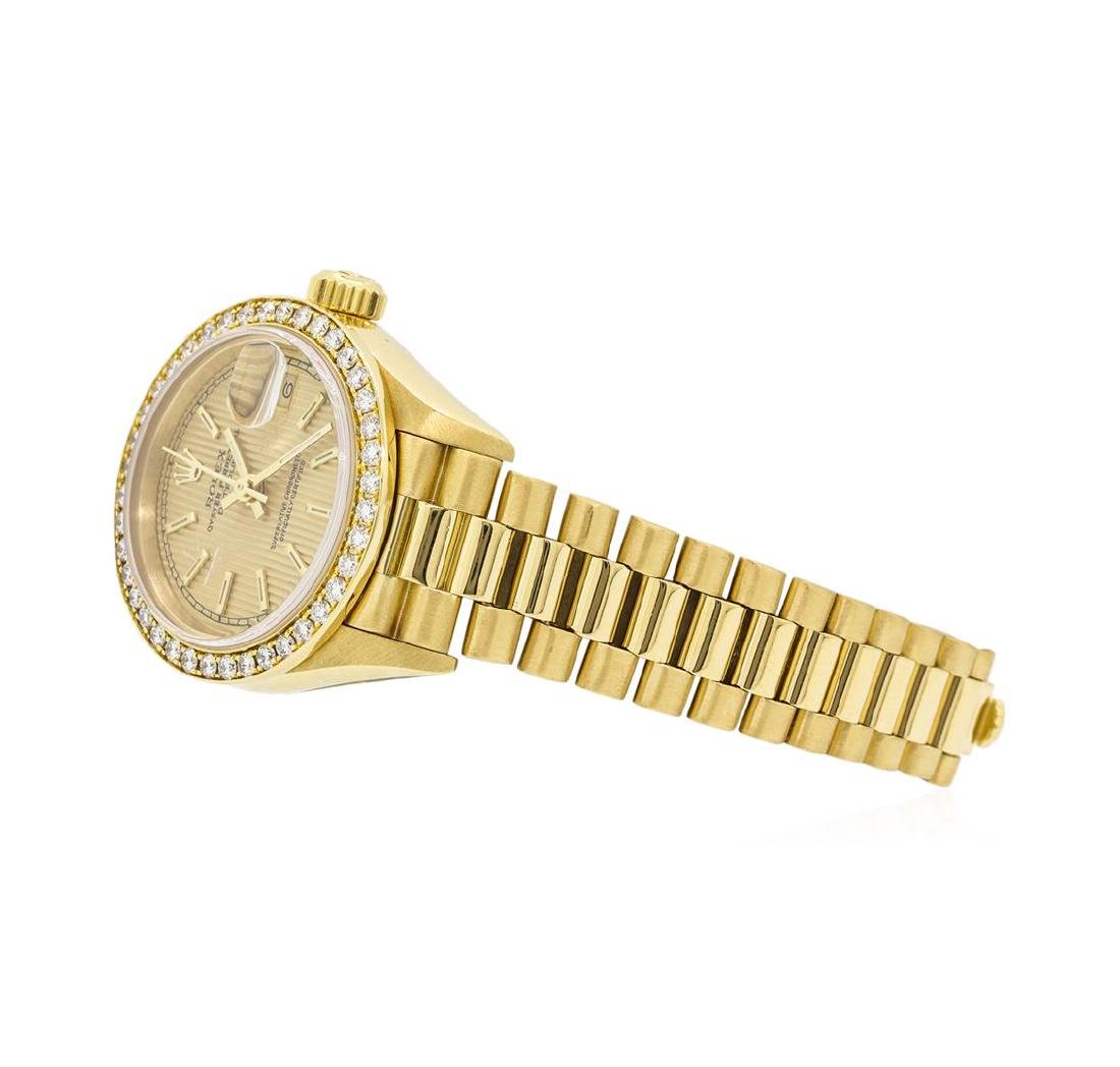 Rolex 18KT Yellow Gold Ladie's Oyster Perpetual - 2