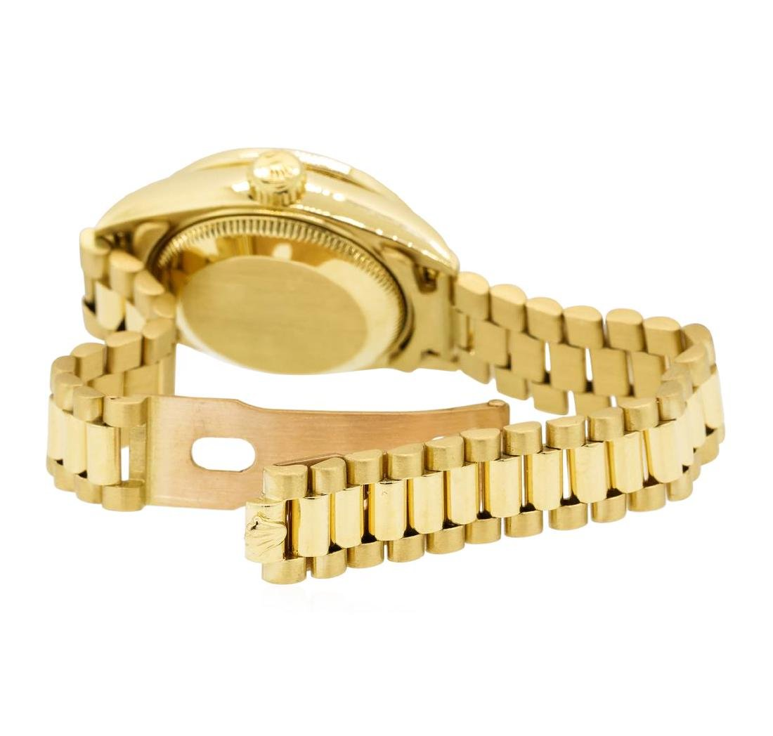 Rolex 18KT Yellow Gold Ladie's Oyster Perpetual - 3